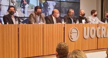 """Acto en la UOCRA: clima de campaña en presentación del Programa """"Construir Trabajo e Igualdad"""""""