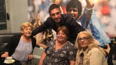 Las hermanas de Maradona dijeron que lo vieron