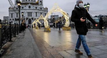 Rusia registró un nuevo récord diario de muertos por coronavirus