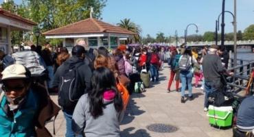 En pleno fin de semana largo, caos en Tigre por un paro de lanchas