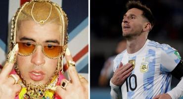 Bad Bunny narra anuncio dedicado a Messi: