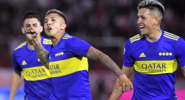 Con el sello de los pibes, Boca goleó a Huracán y se ilusiona