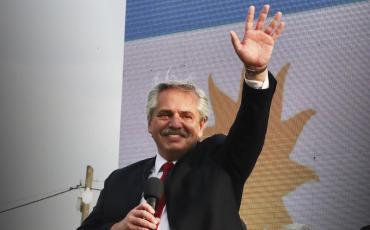 Alberto Fernández, por el 17 de octubre: