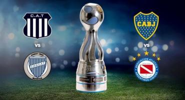 La Copa Argentina confirmó las fechas de semifinales entre Boca-Argentinos y Talleres-Godoy Cruz
