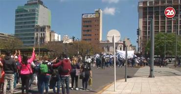 MAPA DE CORTES por acto de la CGT del Día de la Lealtad peronista: caos en el Centro porteño