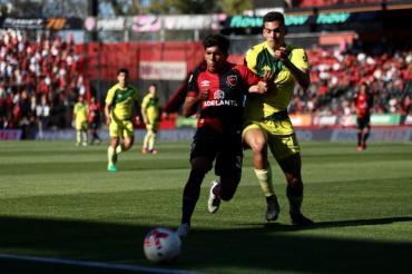 Newell´s no pudo con Devecchi y no pasó del empate ante Aldosivi en Rosario