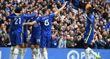 Chelsea aplastó al Norwich y continúa como líder de la Premier League